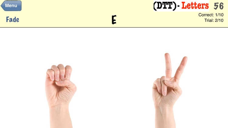 Autism/DTT Letters by drBrownsApps.com - Includes American Sign Language screenshot-4