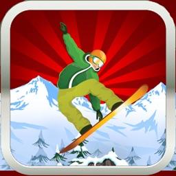 Mountain Snowboarder - Downhill Freestyle