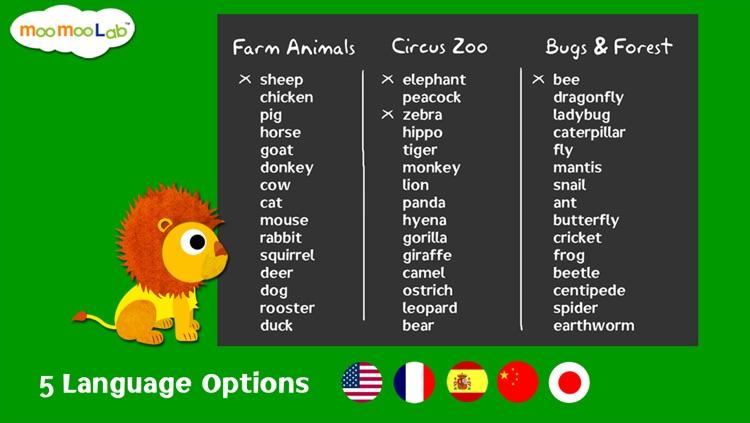 Animal World - Peekaboo Animals, Games and Activities for Baby, Toddler and Preschool Kids screenshot-3