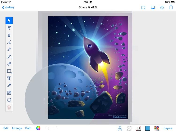 Vector PaintPad (vector graphics editor)