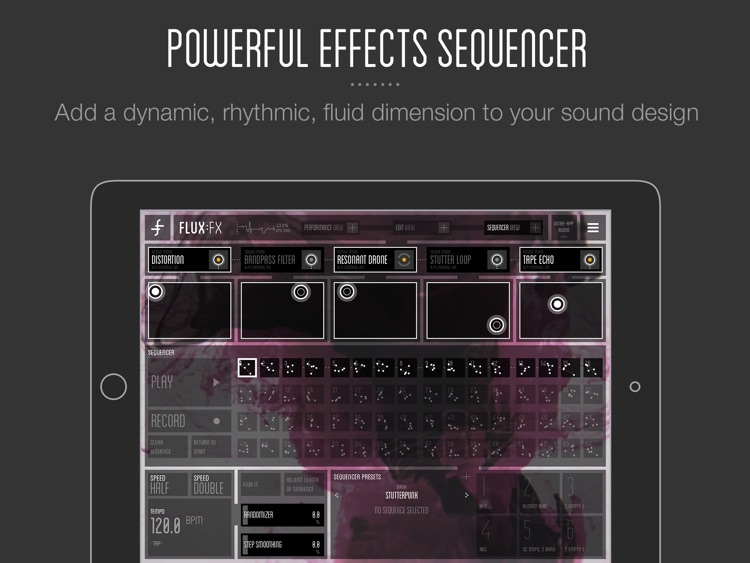FLUX:FX by Adrian Belew - the professional audio multi-effects app screenshot-4