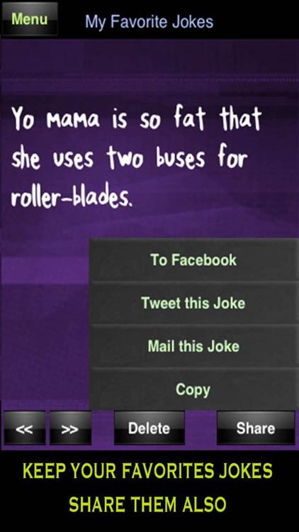 Yo Mama Jokes FREE - Best Funny Yomama screenshot-3