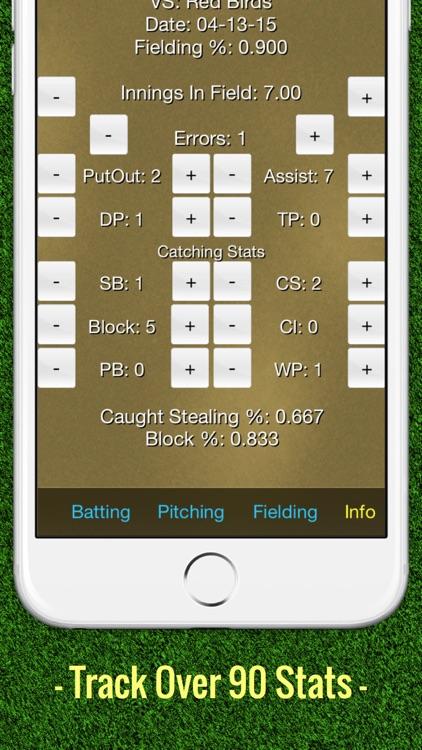 Softball Stats Tracker Fastpitch