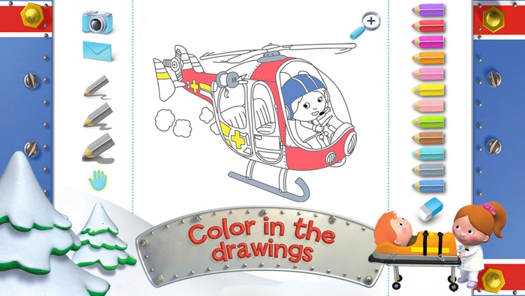 Roger's helicopter - Little Boy - Discovery screenshot-4