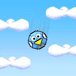 Blue Bird Fall - Flappy Drop Down