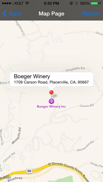 Sierra Foothills Winery Finder screenshot-4