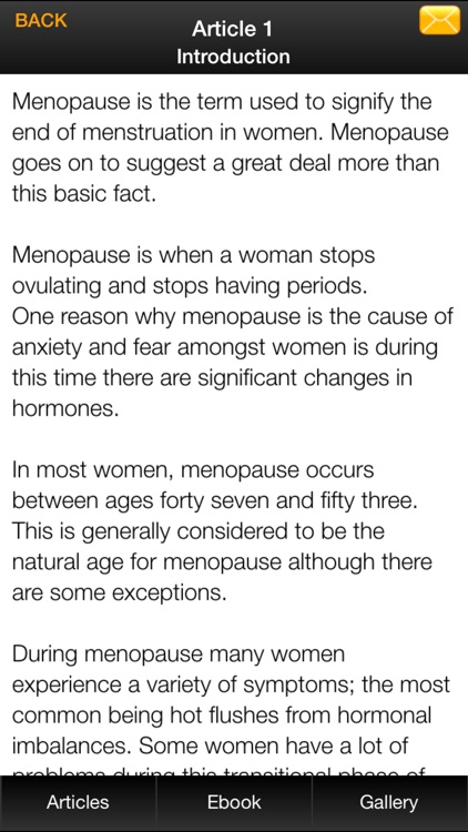 Menopause Guide - Natural Ways to Overcome Menopause Symptoms screenshot-3