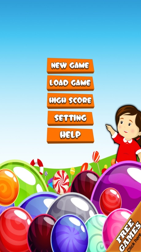 Candy Drops Matching Mania: Sugar Sweet Shop Puzzle Game
