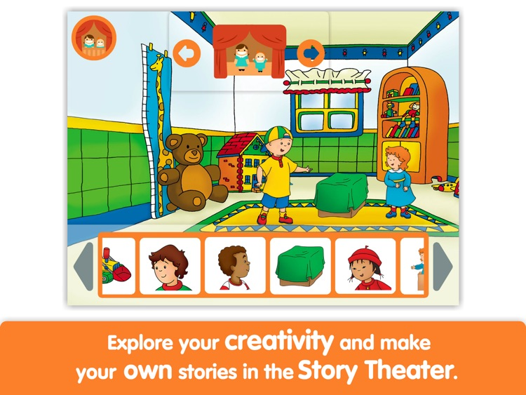 Caillou: Show and Tell - Lite - by i Read With screenshot-3