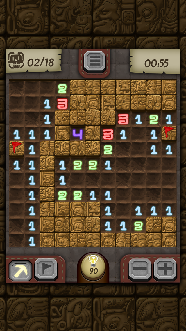 Temple Minesweeper - El Dorado Adventure with Mine Sweeper Gameplay screenshot two