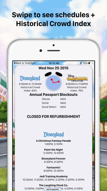 MouseWait for Disneyland Wait Times FREE screenshot-4