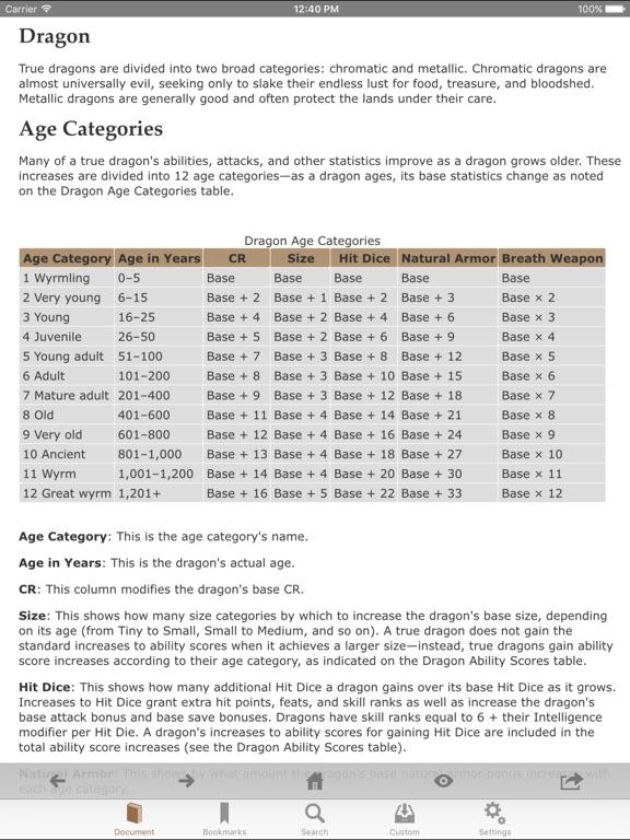 Screenshot #4 for RPG Books