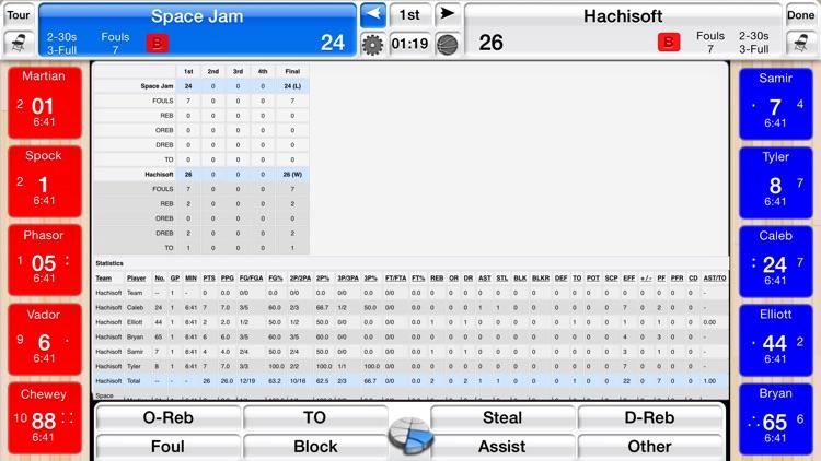 Basketball Stat Tracker