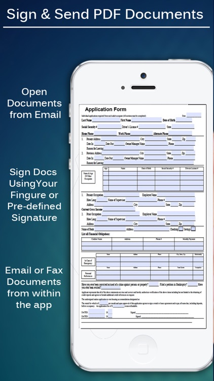 PDF Pro - Sign Documents, Fill Forms and Annotate PDFs screenshot-3