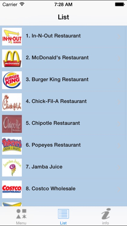 mySecretMenu - Fast food hidden menus screenshot-2