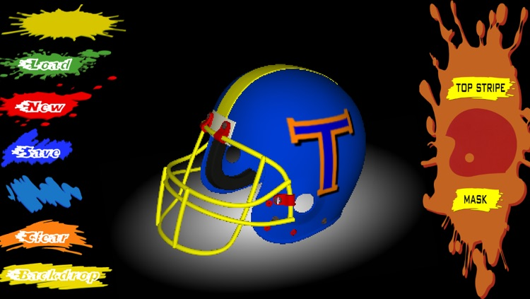 Football Helmet 3D - Design your helmet decals screenshot-1