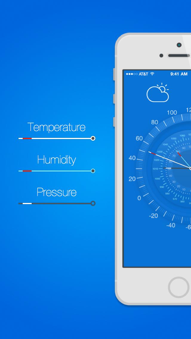 Pretty Good Weather - 無料天気予報&iPhone用バロメーターのおすすめ画像2