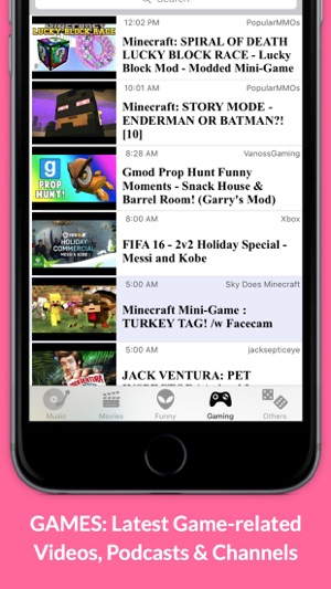 MobiTube: Best Videos on Music, Movies, Games, Funny Stuff & More