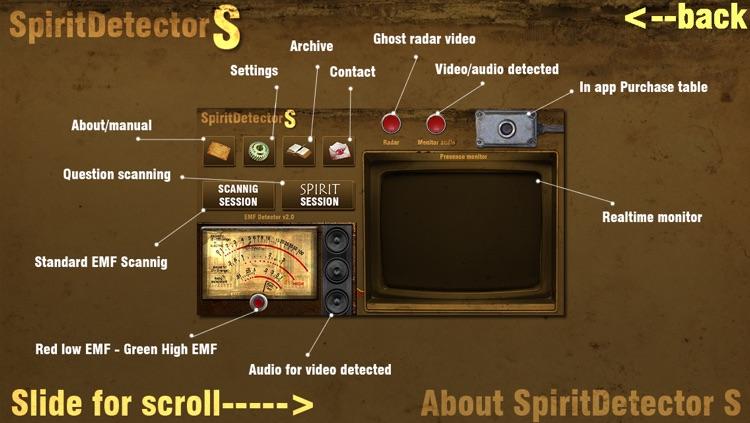 Spirit Detector S
