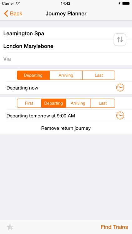 UK Train Times screenshot-3