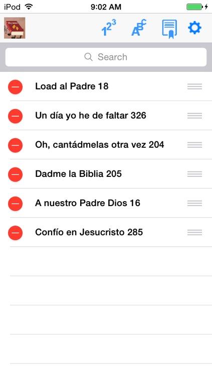 Himnario Adventista, screenshot-4
