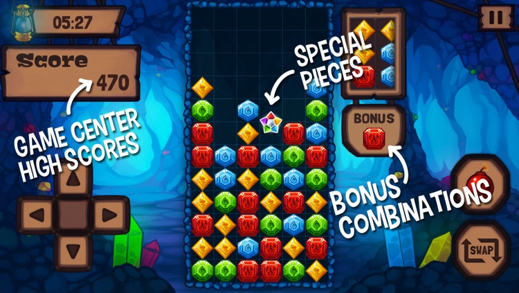 Jewels Master - Free Triple Match Game screenshot-0
