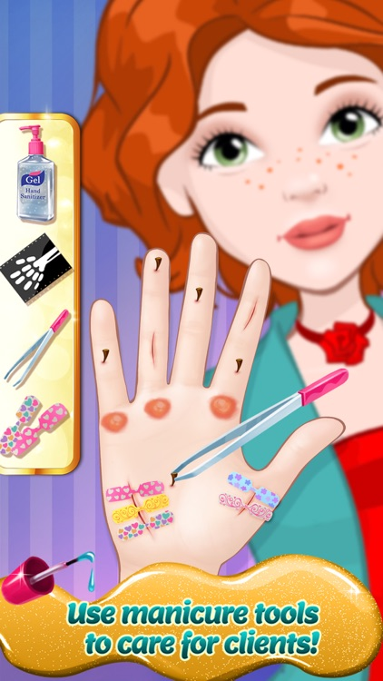 Fancy Nail Shop - Mani Pedi Salon screenshot-4