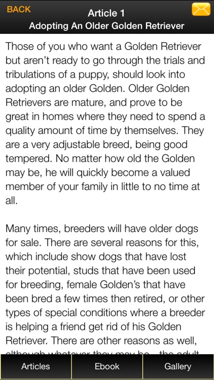 Golden Retriever Guide - Everything You Need To Know About Golden Retriever ! screenshot-3