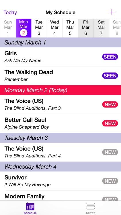 My TV Show Tracker screenshot-0