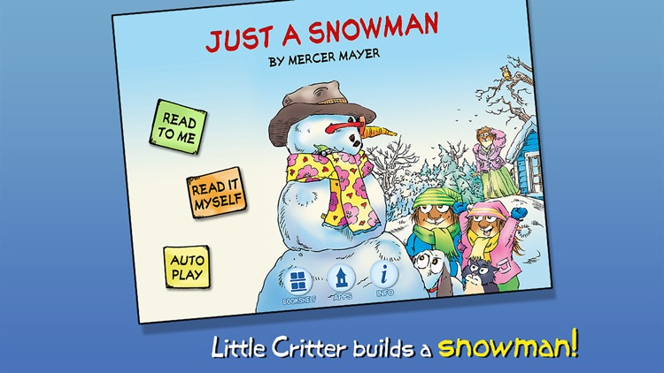 Just a Snowman - Little Critter screenshot-0