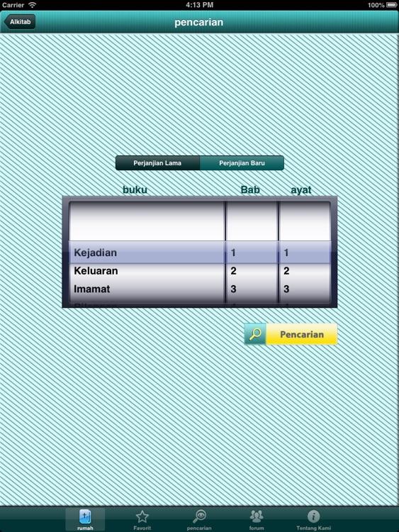 Alkitab Offline for iPad screenshot-3