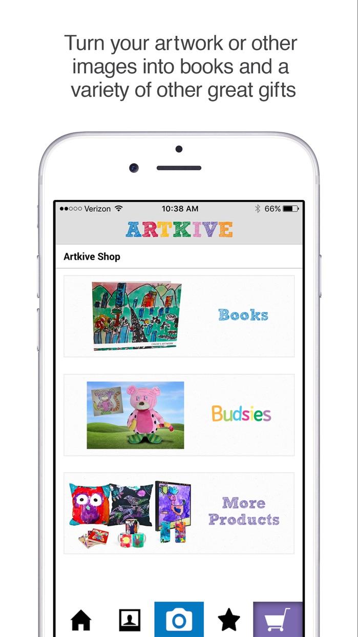 Artkive - Save Kids' Art Screenshot