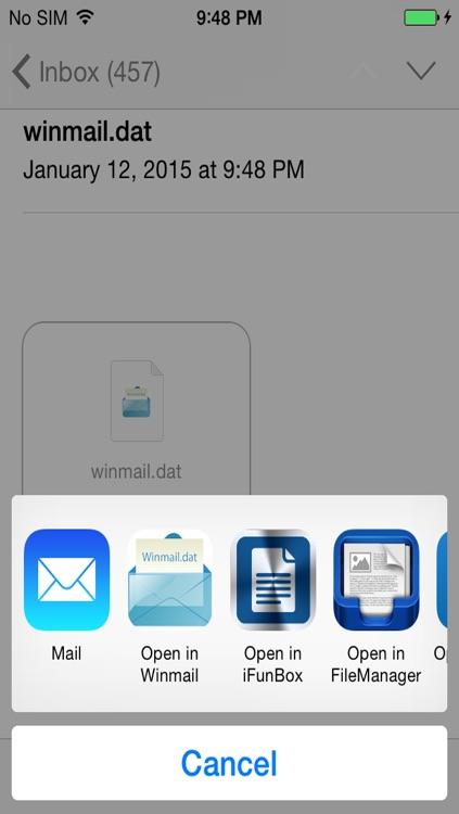 Winmail screenshot-3