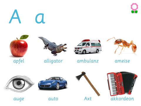 Alphabet und Wortschatz-Buch für Kinder (Wörterbuch für Kindergarten und Vorschule)-ipad-1