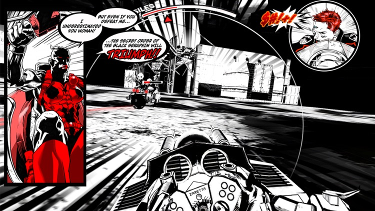 SXPD: Extreme Pursuit Force. The Comic Book Game Hybrid screenshot-3