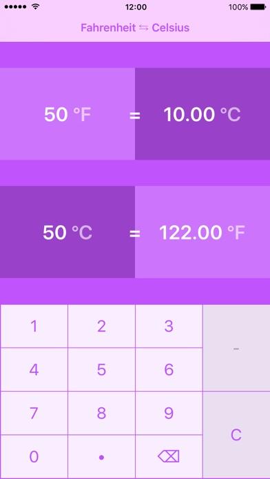 Screenshot 4 For Fahrenheit To Celsius