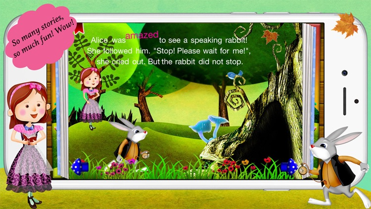 Alice in Wonderland by Story Time for Kids screenshot-1
