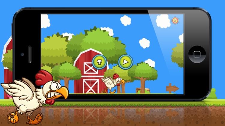 Chicken Run Free! A farm run and fly story of next door chicken hero!