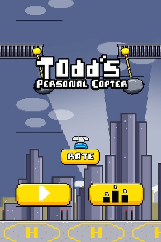 Todd's Copter Lite screenshot 2