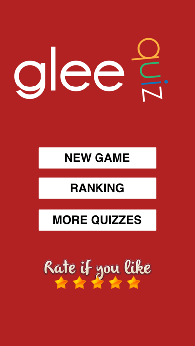 Quiz for Glee - Trivia for the TV show fans