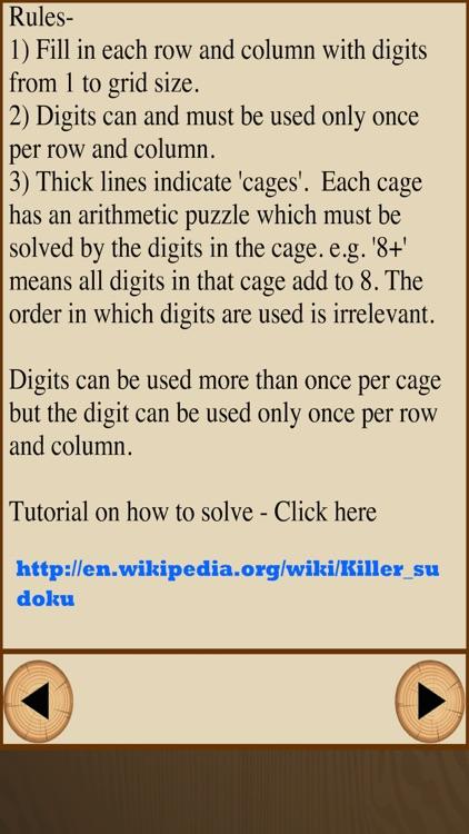 Killer-Sudoku Free screenshot-3