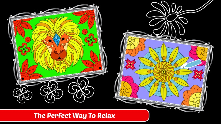 Enchanted Forest Art Class- Coloring Book for Adults screenshot-3