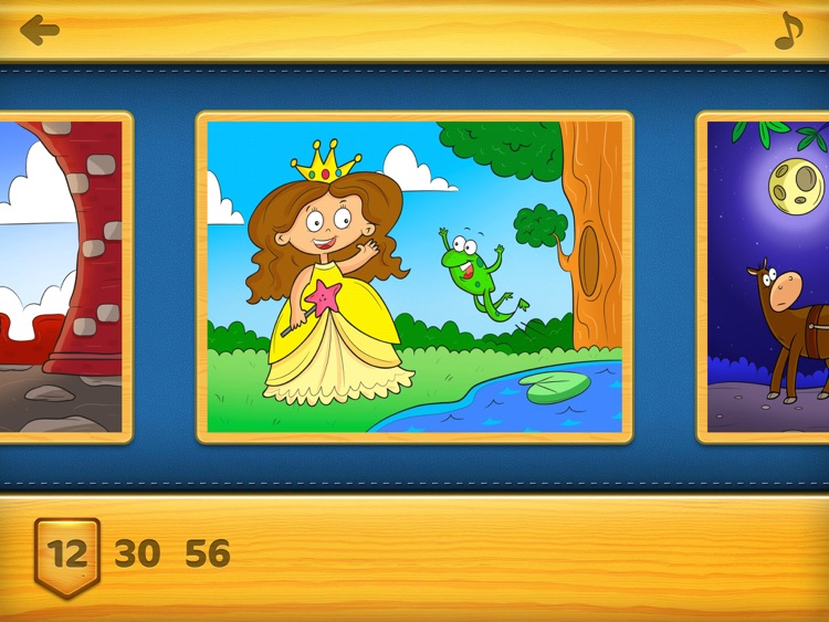 Jigsaw Puzzles (Princess) FREE - Kids Puzzle Learning Games for Preschoolers with Fairies & Princesses screenshot-4
