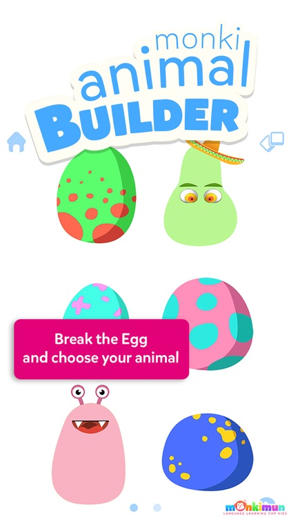 Monki Animal Builder - Language Learning for Kids and Toddlers screenshot-0