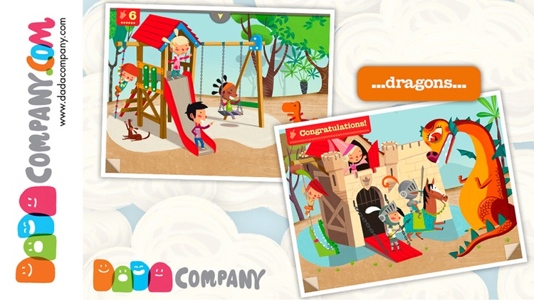 1000 Adventures - An interactive storybook, with animals, robots, dinosaurs, pirates, princesses … screenshot-3