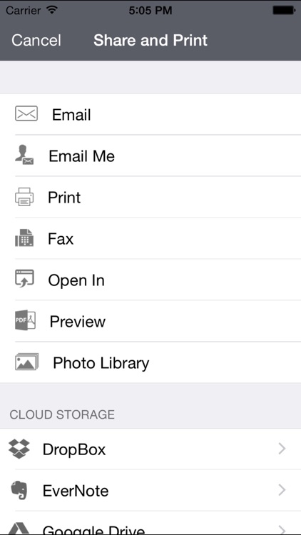 QuickScan - Scan PDF, Print, Fax, Email, and Upload to Cloud Storages screenshot-3