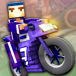 Super Bike Runner - Free 3D Blocky Motorcycle Racing Games
