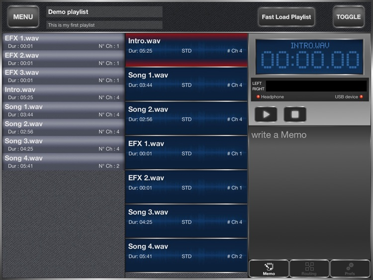 SyncInside - Backing tracks advanced player