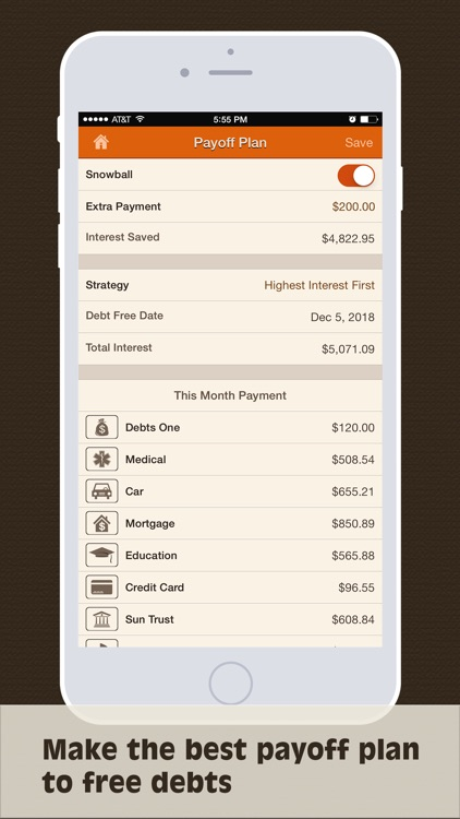 Debts Monitor Pro - Debt Tracker and Reminder