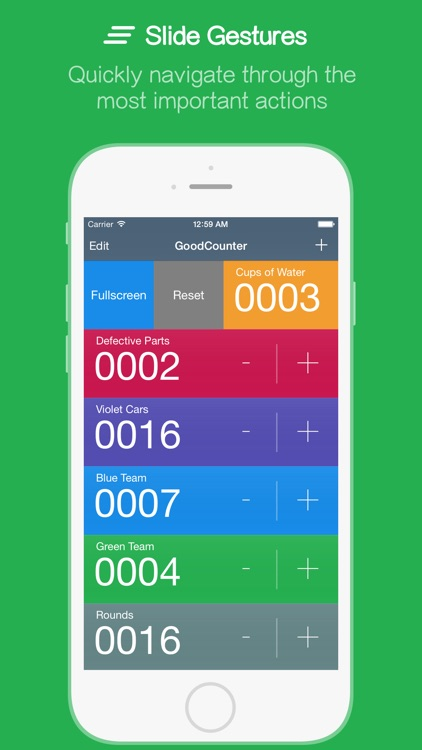 GoodCounter – A Pretty Good Tally Counter screenshot-2